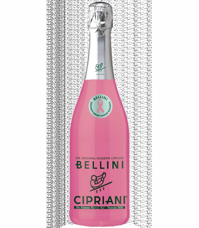 Лимитирана розова бутилка с кауза на Bellini Cipriani