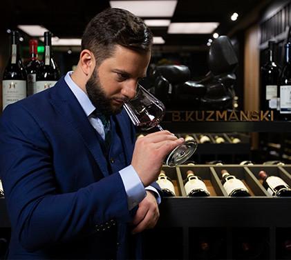 Професия Сомелиер - между виното и храната