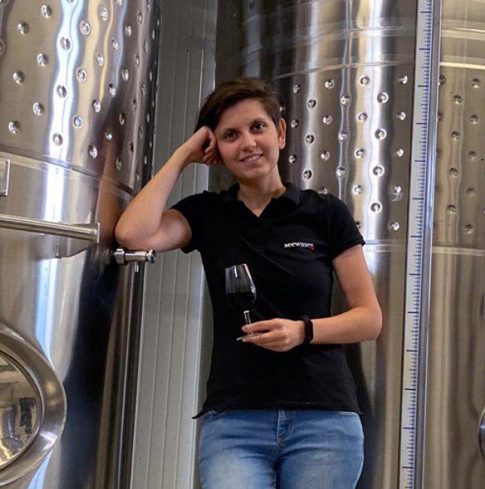 Купажиране на червени вина с Мариана Гълъбова