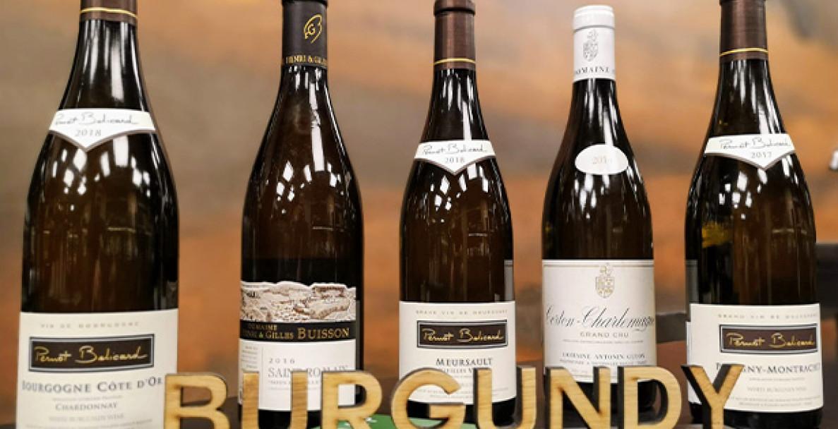 Дегустация: Бяла Бургундия с вината на Златния бряг (Côte d'Or)