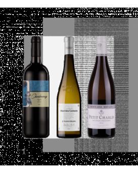 Пакет 3 бели вина от България, Франция и Португалия