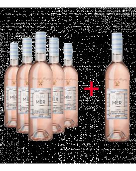 Пакет Блу дю Мер Розе 5+1