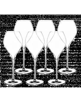 Комплект от 6 чаши за Пенливо Вино Lehmann Жамес Гран Шампан 41