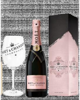 Шампанско Моет Розе Signature с Кутия