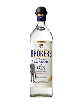 Джин Брокърс 0.7л. 40%