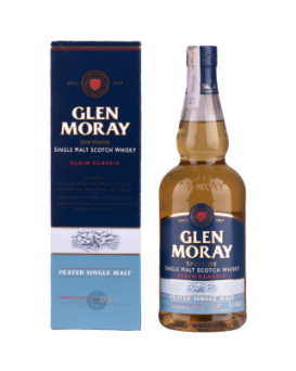 Уиски Глен Морей Пийтед 0.7л.